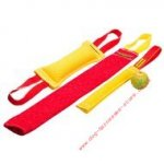 French Linen Dog Training Set, Perfect for Bite Grip Training