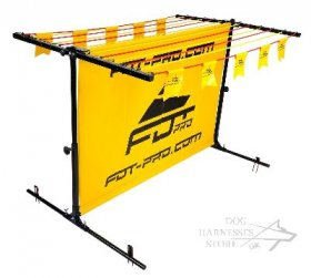 Dog Jumping Hurdle with Removable Frame for Schutzhund and IPO