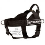 Nylon Dog Harness UK K9 with Patches, Best Control and Training