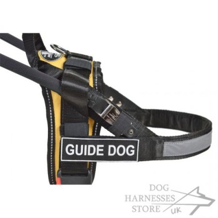 Easy Guide Dog Harness of Nylon for Assistance Dogs