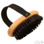 Dog Grooming Brush with Handle for Short-Haired Canines