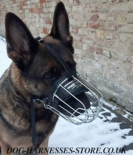 Bestseller! German Shepherd Wire Basket Muzzle