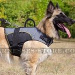 Belgian Tervuren Dog Harness Vest Nylon for Warming and Support