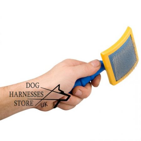 Slicker Dog Grooming Brush for Long-Haired Breeds