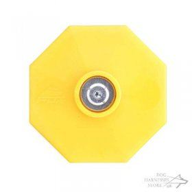 IGP Dog Dumbbell with Yellow Weight Plates, 650 g