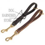 Pull Tab Dog Leash, Short Lead for Fast Grabbing