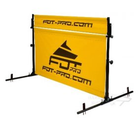 Dog Hurdle Jump with Rotating Crossbar for IPO and Schutzhund