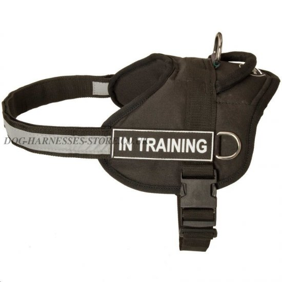 German Shepherd Dog Harness for Puppy Walking and Training