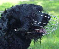 Wire Dog Muzzle for Black Russian Terrier, Basket Dog Muzzle UK