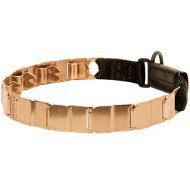 Curogan Prong Collar Neck Tech for Dog Obedience, 19 Inches