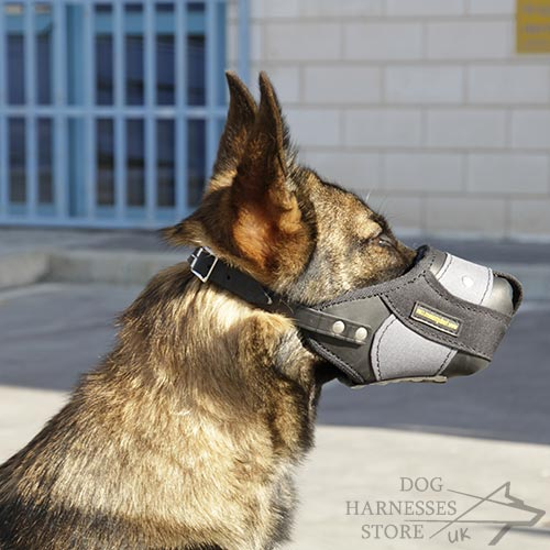 Durable Nylon Dog Muzzle