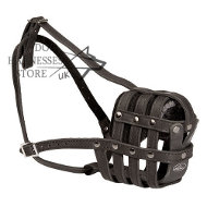 Universal Leather Muzzle | Leather Muzzle for Every Dog Breed