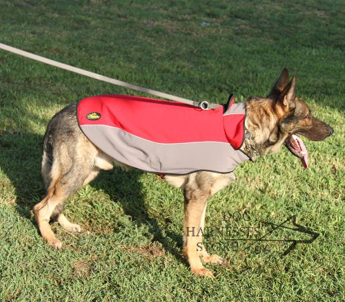 Waterproof Nylon Coat for Dogs 2013
