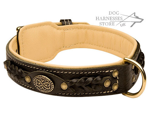 royal Leather Dog Collars