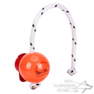 Big Hard Plastic Dog Ball Top-Matic with MAXI Power-Clip
