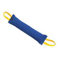 French Linen Bite Tug for Grown-Up Dogs with Strong Grip