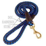 Cord Type Heavy-Duty Nylon Dog Lead for Strong Canine Walking