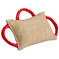Jute Bite Pillow for Dog Training with Three Convenient Handles