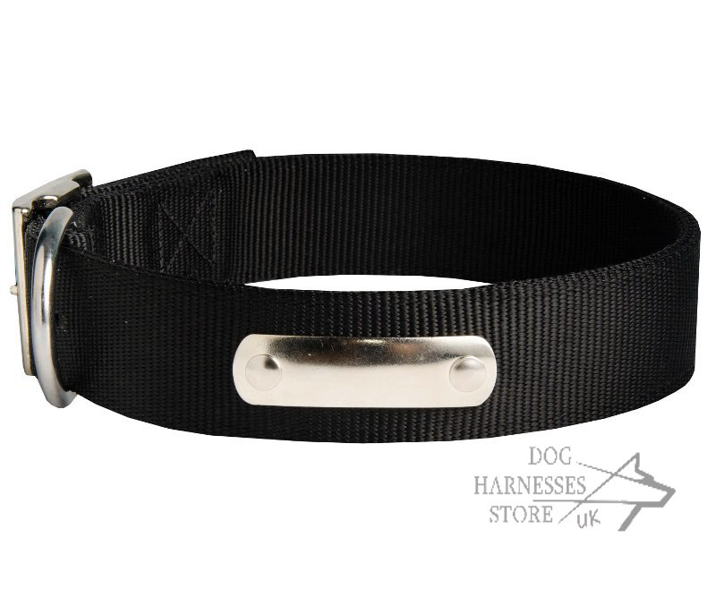 Personalized Dog Collar of Nylon with Blank ID Tag for ...