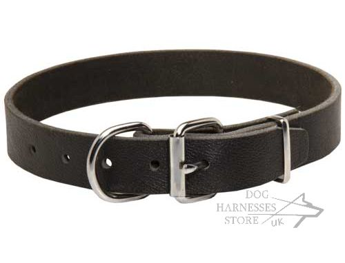 Soft Leather Dog Collars