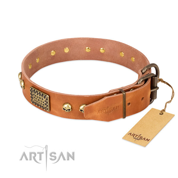 Artisan Leather Dog Collars