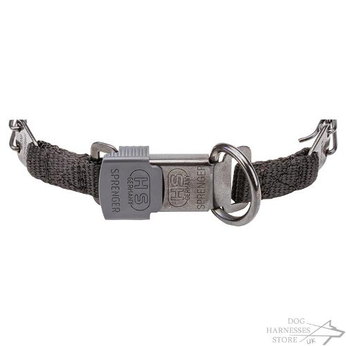 Dog Pinch Collar with Quick Release