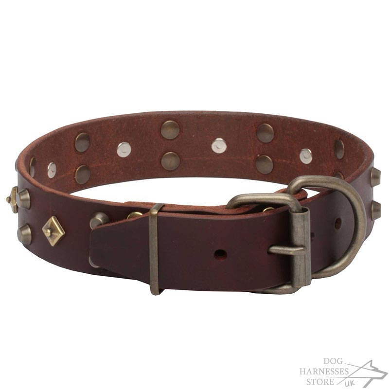 Fashion Designer Dog Collar Antique