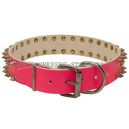 Girly Leather Dog Collars