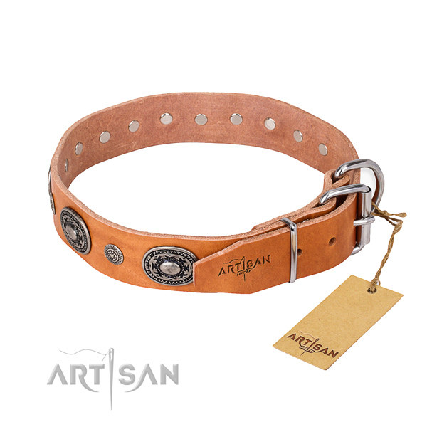 Handmade Leather Dog Collars
