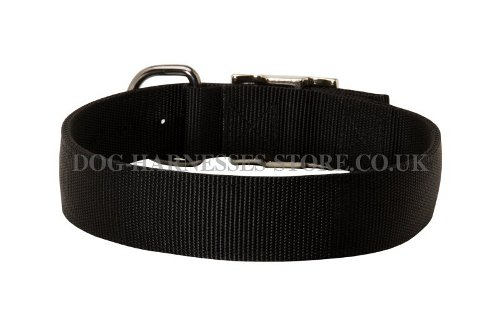 Nylon Dog Collar UK Classic