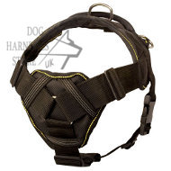 Nylon Dog Harness for Dog Sports UK, Chest Plate for Protection