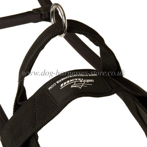 harness for assistant dogs, guide harness with handy handles