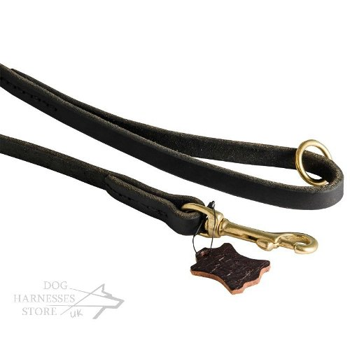 Leather Dog Leash Handmade