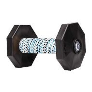 Dog Obedience Training Dumbbell with Black Weight Plates, 650 G