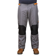 "Dog Training Clothes FDT ""Pro Pants in Dark Grey with Orange"