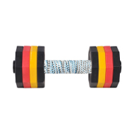Dog Training Dumbbell of 2 kg, Multicolour Weight Plates
