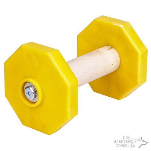 Wooden Dumbbell for Dogs