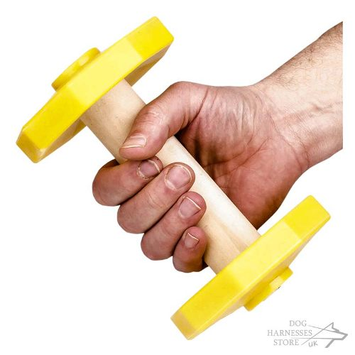 Wooden Dumbbells for Dogs UK