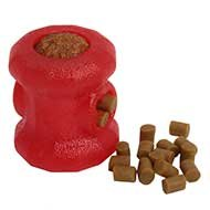 """Fireplug"" Dog Chew Toy and Treat Holder for Small Breeds"