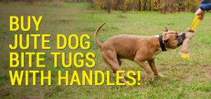 Jute Dog Bite Tugs