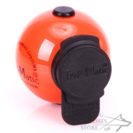 Large Hard Plastic Dog Ball Top-Matic with Multi Power-Clip