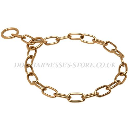 Dog Chain Collar of Curogan Perfect for Walking and Training