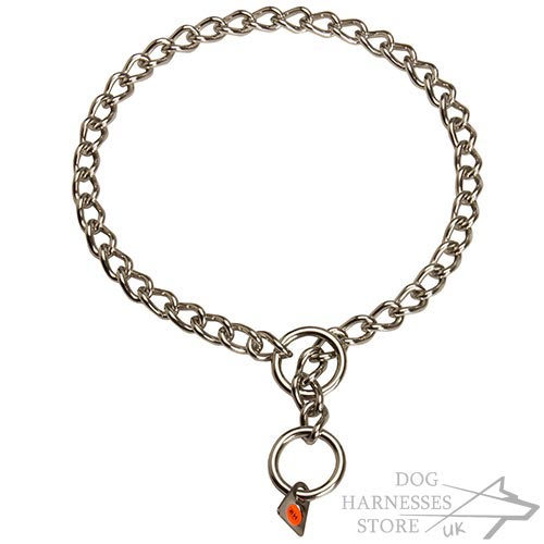 Bestseller! Dog Choke Chain Herm Sprenger Inox Steel - Click Image to Close