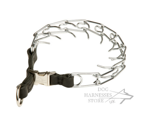 Pinch Dog Collar with Snap-Buckle for Behavior Control, 3.25 mm
