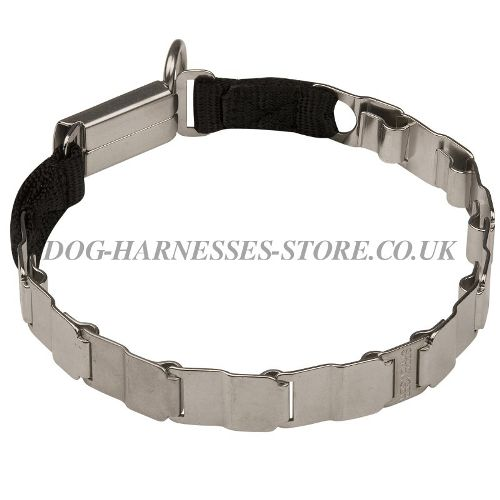 Herm Sprenger Neck Tech Dog Prong Collar of Stainless Steel
