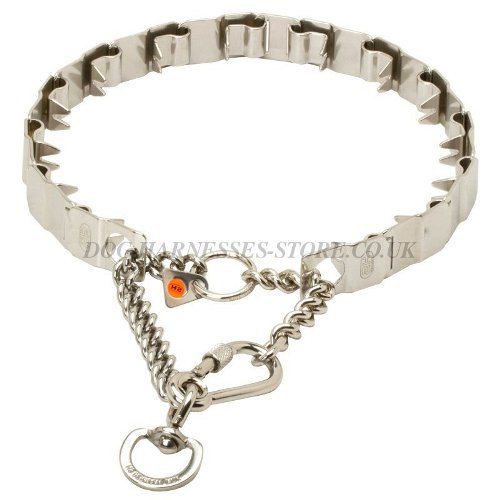 Herm Sprenger Prong Collar, Safe Neck Tech for Obedience