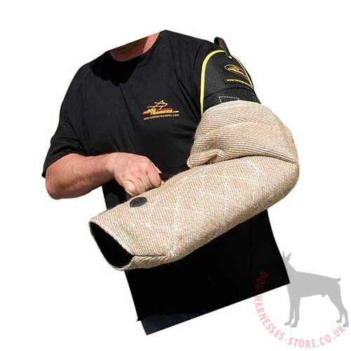Bite Protection Sleeve of Jute for Attack Dog Training Classes