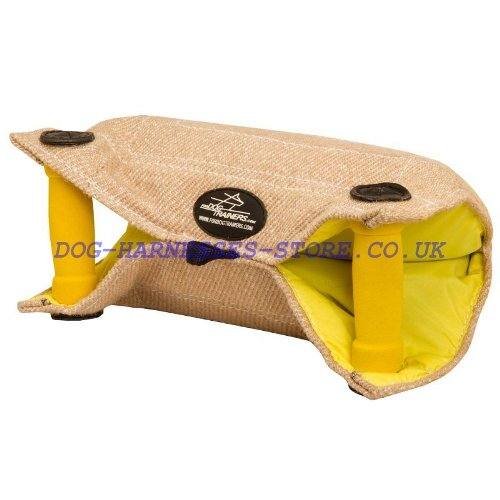 Bite Builder of Natural Jute for Puppy, Dog Training Equipment
