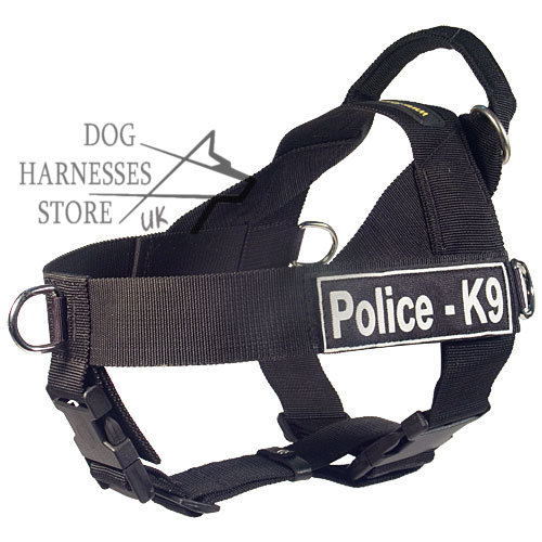 Nylon  Harness for Police Dog Training