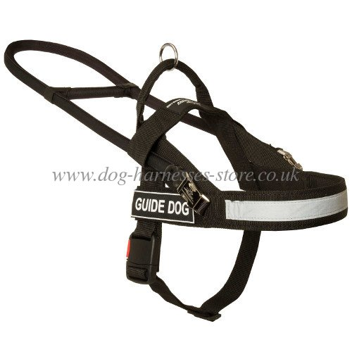 Guide Harness with ID Patches for Assistant Dogs UK, Nylon